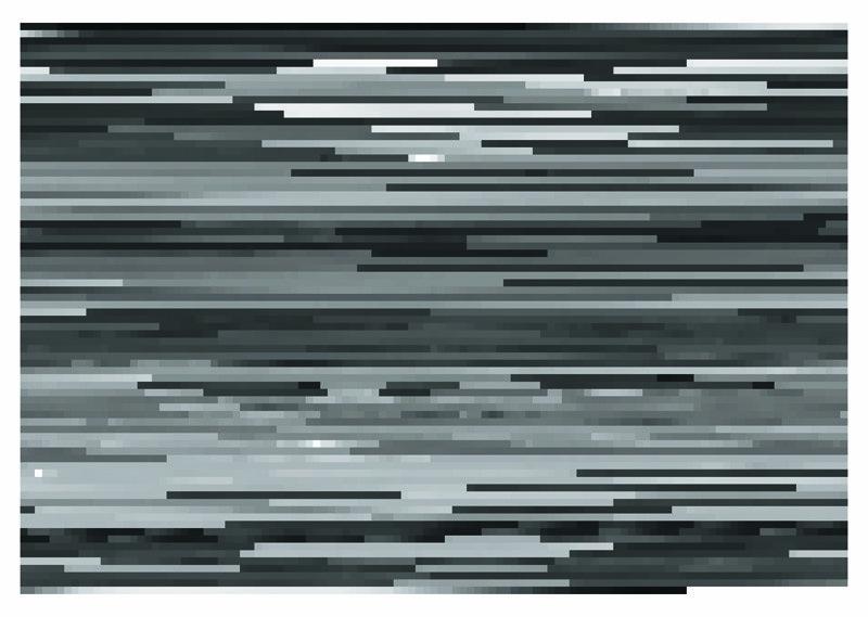 Jason Salavon, Vogue (from MTV's 10 Greatest Music Videos of All Time), 2001, digital colour prints mounted on Plexiglas, 69 x 96.5 cm. © Jason Salavon