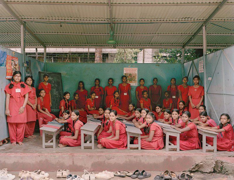 Surovi School, Dhanmondi, Dhaka, Bangladesh. Year 6, Examination, July 9th, 2009, from the series / de la série The Future Is Ours, Classroom Portraits, 2004–2015