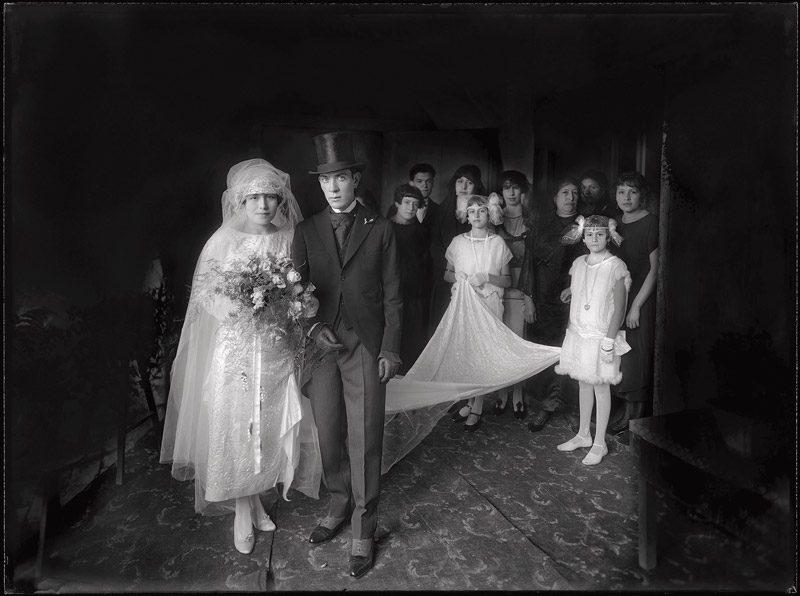 Martín Chambi, Wedding of Don Julio Gadea of Cuzco, 1930