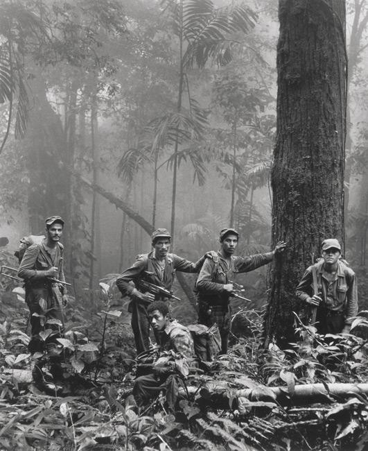 Rodrigo Moya, Guerrilleros en la niebla, 1966