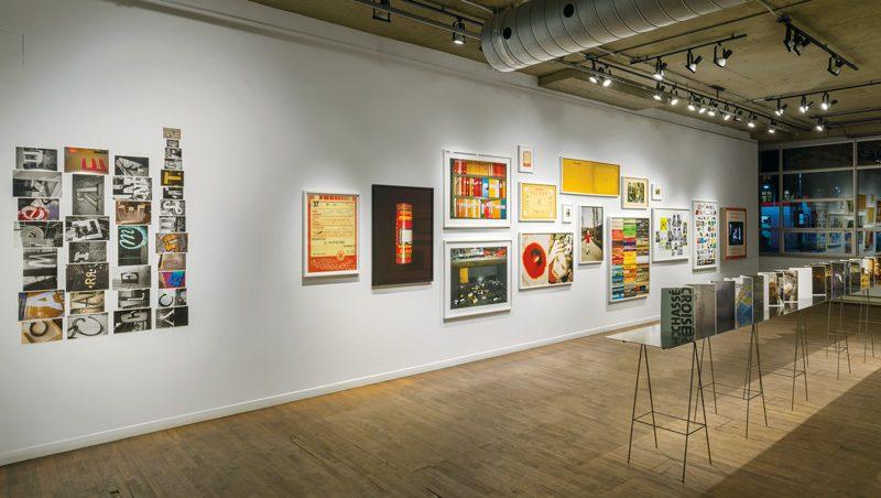 Vue de l'exposition, photo: Guy L'Heureux