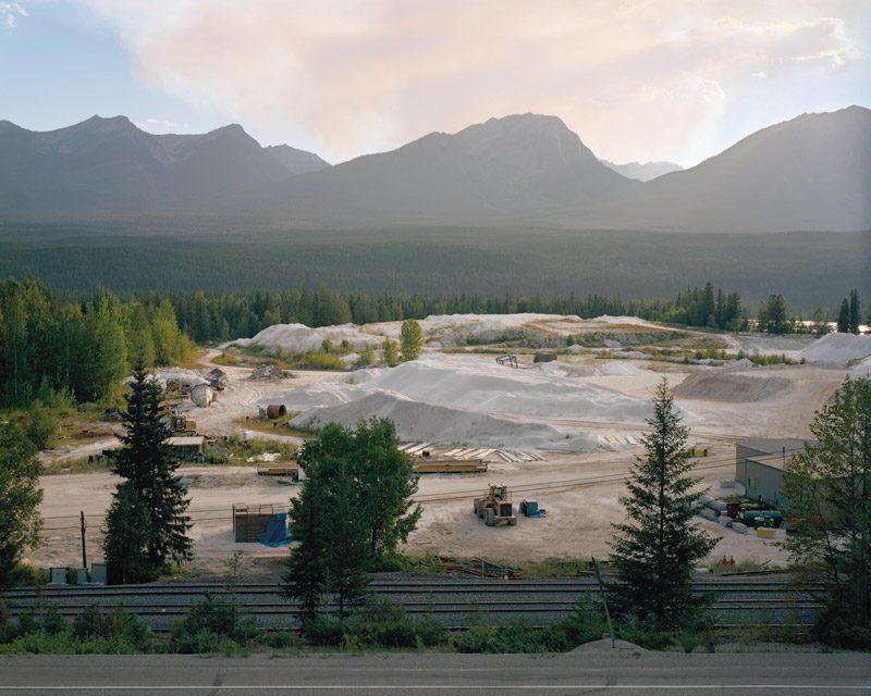 Scott Conarroe, Forest Fire Plume, Golden BC, 2008, inkjet print, courtesy of the artist and the Stephen Bulger Gallery