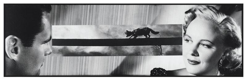 John Baldessari, Man and Woman with Bridge, 1984, gelatin silver prints, 36,8 x 121,9 cm, © John Baldessari
