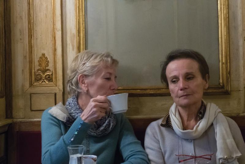 Angela Grauerholz, Deux dames de Venise, 2015, impression à jet d'encre (sur papier coton archive), 69 x 102 cm [Pour Jack Lazare]