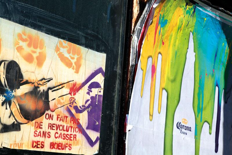 Robert Walker, Posters, rue Ontario est, 2013