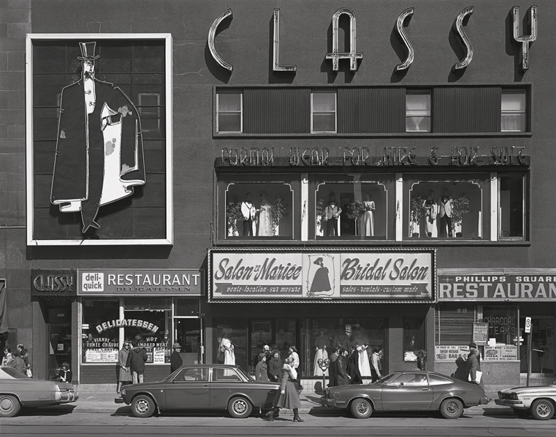 Gabor Szilasi, Classy, de la série / from the series Sainte-Catherine, 1977-1989 épreuves argentiques / silver prints