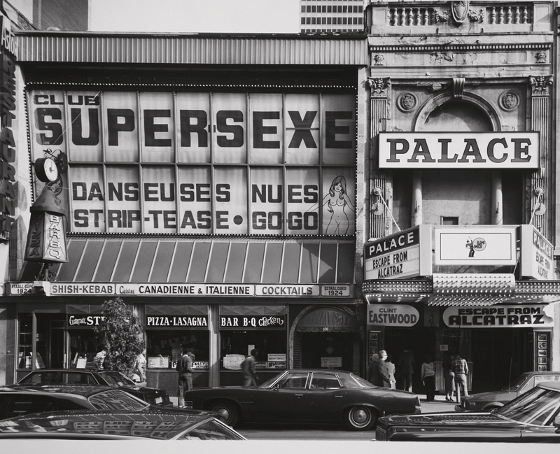 Gabor Szilasi, Club Supersexe, de la série / from the series Sainte-Catherine, 1977-1989 épreuves argentiques / silver prints