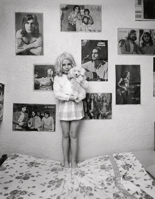 Clara Gutsche, Janet Symmers, 1970, de la série / from the series Milton Park, 1970-1973, épreuves argentiques / silver prints © Clara Gutsche / SODRAC