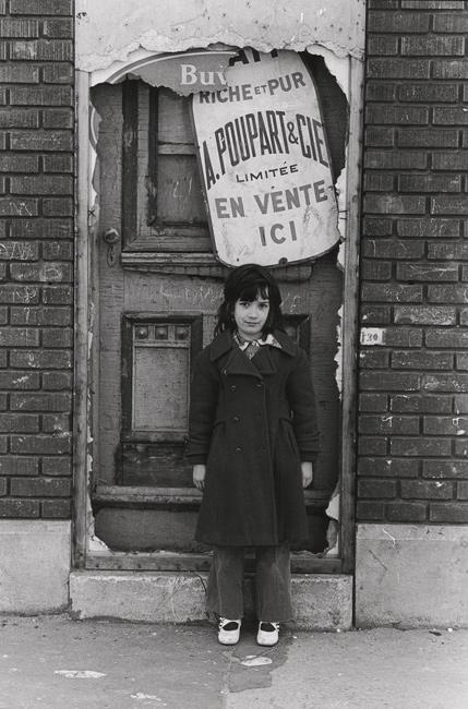 Claire Beaugrand-Champagne, Fillette, Montréal, 1971, épreuves argentiques / silver prints