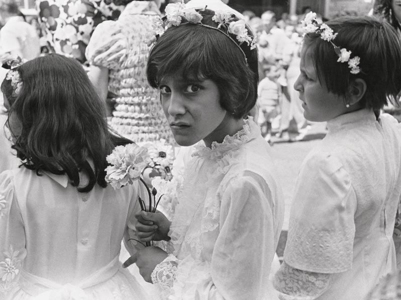 Claire Beaugrand-Champagne, Fête de Notre-Dame-de-la-Défense, quartier italien, Montréal, 1974, épreuves argentiques / silver prints