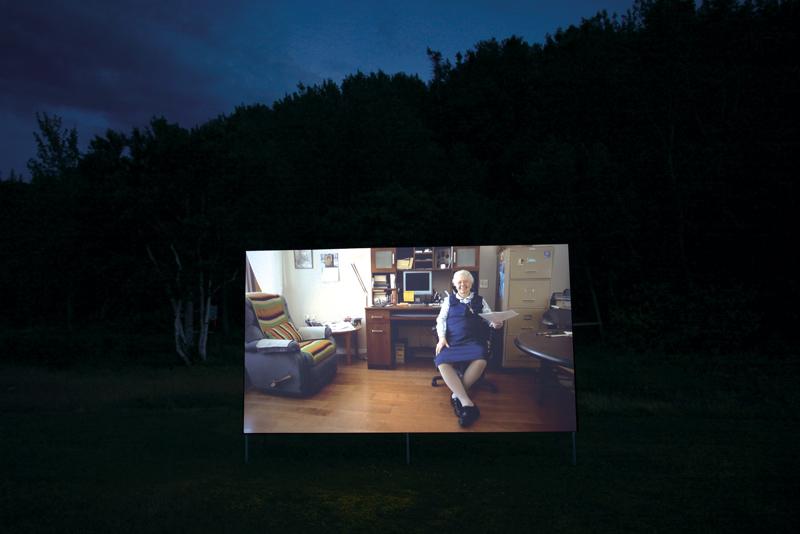 Emmanuelle Léonard, La Providence, 2014, vidéo Hd, 29 min, photo : Le Magasin général