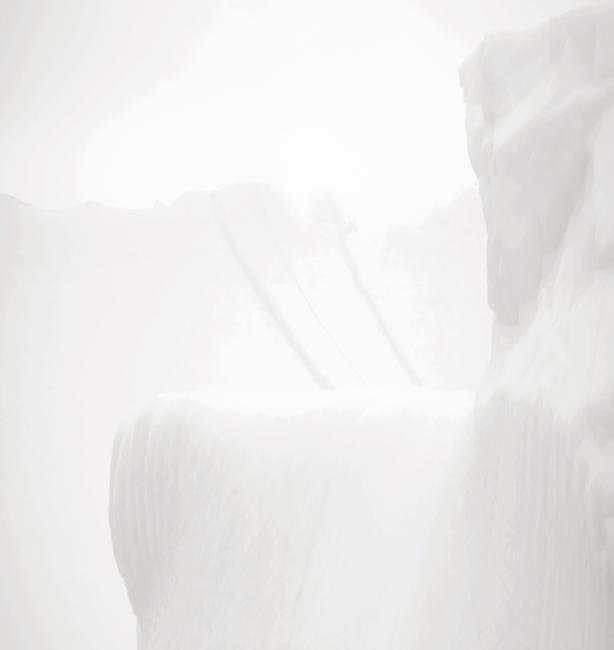 Alain Lefort, Sans titre 3 (Eidôlon), 107 × 93 cm, 2016, impressions numériques / digital prints