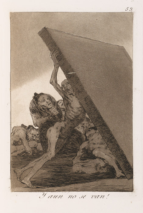 Francisco de Goya, Los Caprichos, 1799, Second edition / 2e édition, 1855, etching, aquatint, and burin / eau-forte, aquatinte et burin, 21 × 15 cm, Collection Sylvie and/et Georges Helft