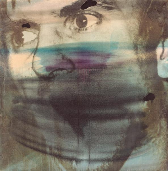 Wolf Vostell, Dutschke, 1968, polymer paint on canvas / peinture polymère sur toile, 105 × 104 × 4 cm, Haus der Geschichte der Bundensrepublik Deutschland, Bonn
