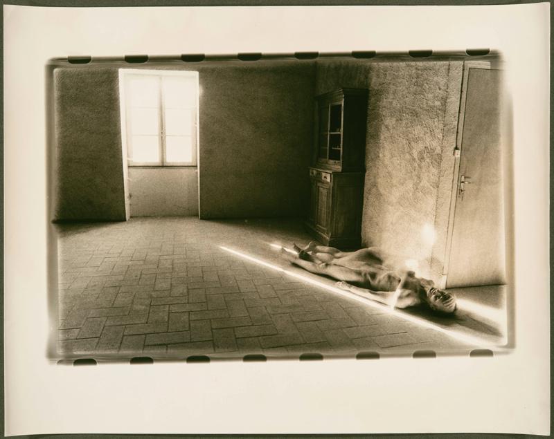 Alix Cléo Roubaud, Mexico 1952 – Paris 1983, de la série Si quelque chose noir, 1980, épreuves argentiques / silver prints 24 × 30 cm. Collection d'art canadien du Musée des beaux-arts de Montréal / The Montreal Museum of Fine Arts.