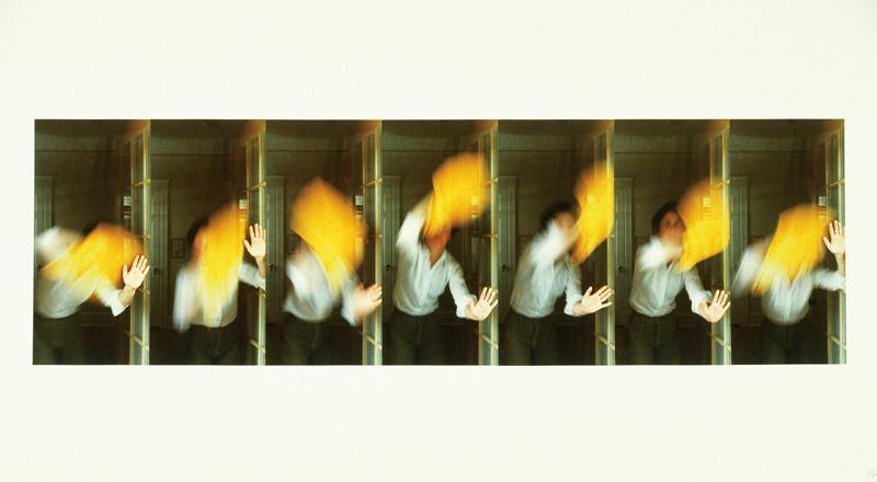 Sorel Cohen, The Shape of a Gesture, 1977, photomontage, 51 × 102 cm. Collection d'art canadien du Musée des beaux-arts de Montréal / The Montreal Museum of Fine Arts.