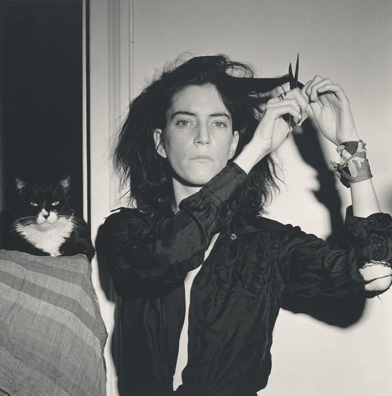 Robert Mapplethorpe, Patti Smith, 1978, gelatin silver print, 35 × 35 cm, gift of The Robert Mapplethorpe Foundation to the J. Paul Getty Trust and the Los Angeles County Museum of Art © Robert Mapplethorpe Foundation