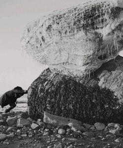 Jacynthe Carrier, brise glace soleil blanc - Sylvain Campeau