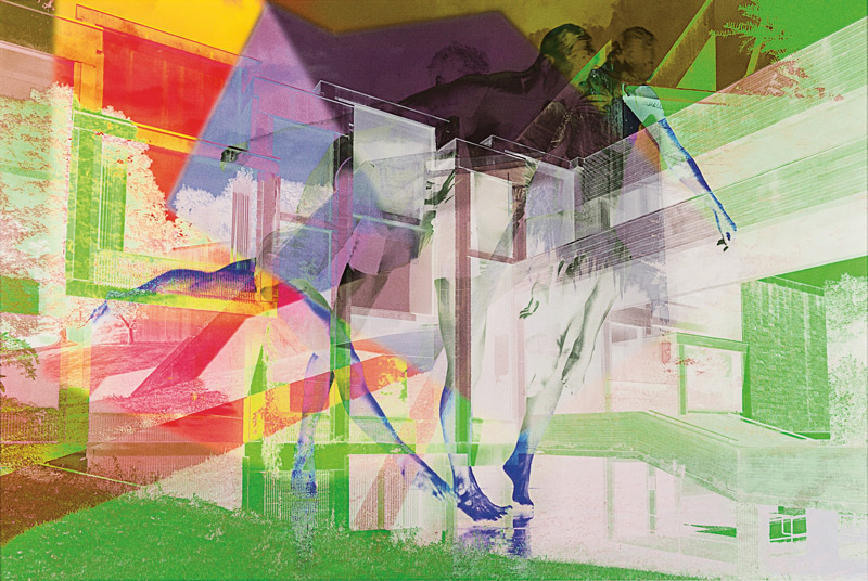 James Welling, 7690, 2015, inkjet on Museo Silver Rag paper, 107 × 160 cm, courtesy of Marian Goodman Gallery