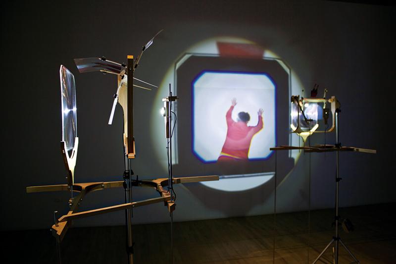 Manon Labrecque, moulin à prières (détail), 2015, installation cinétique et sonore, photo : Manon Labrecque