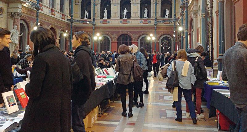 Offprint au Palais des Études des Beaux-Arts, photo : Mona Hakim