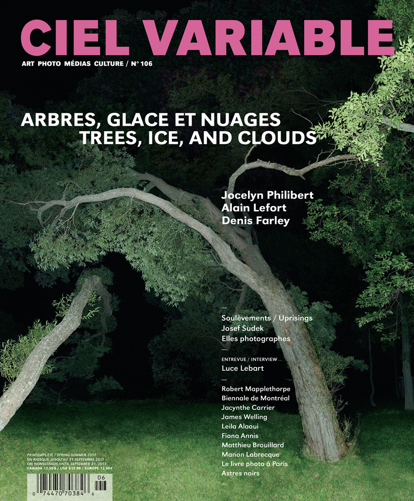 Ciel variable 106 – TREES, ICE, AND CLOUDS