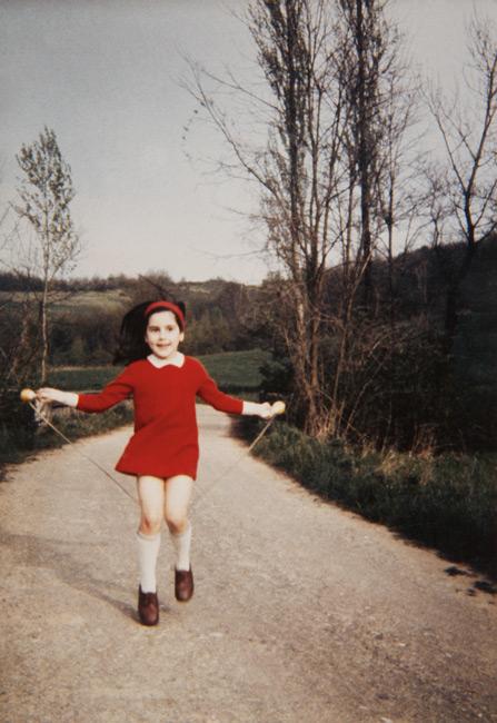 Michel Campeau, La jeune fille à la corde à danser, c. 1970, impression numérique / inkjet print, 80 × 55 cm