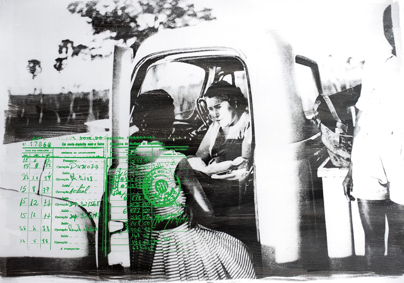 Délio Jasse, The Lost Chapter: Nampula, 1963, 2016, émulsions photographiques et sérigraphies sur papier Fabriano / photographic emulsions and screenprints on Fabriano paper, 70 × 99 cm, permission / courtesy Tiwani Contemporary