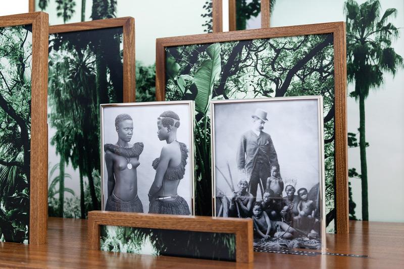 Vasco Araújo, Botânica 8, 2012-2014, épreuves numériques et bois / digital prints and wood, 100 × 100 × 120 cm, permission / courtesy Galeria Francisco Fino, Portugal