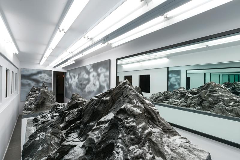 Mathieu Cardin, L'invention des images, 2017, installation, photo: Guy L'Heureux