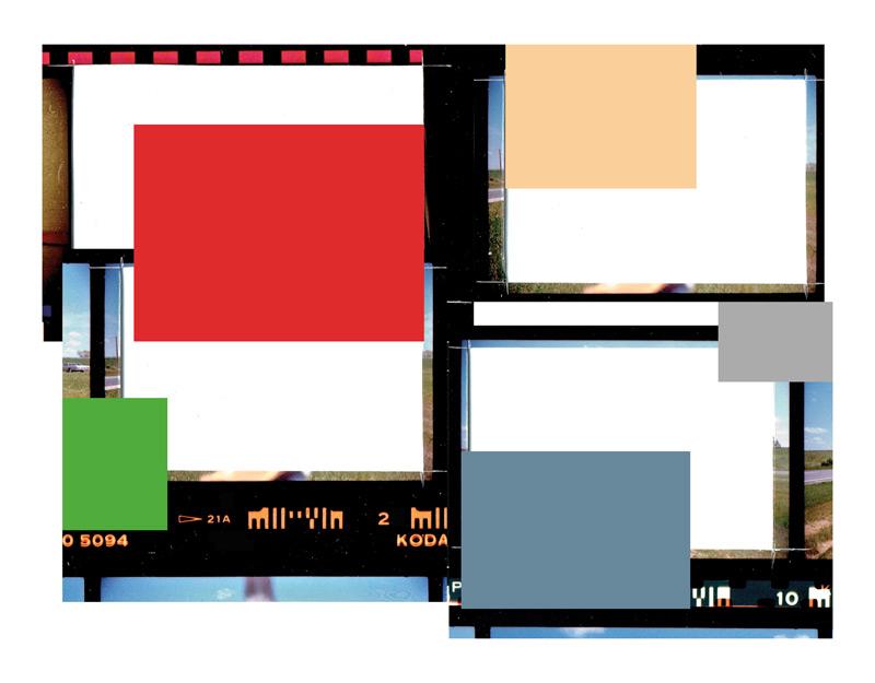 Serge Tousignant, Folio au carré rouge, 2015, photographie numérique, 85 × 102 cm