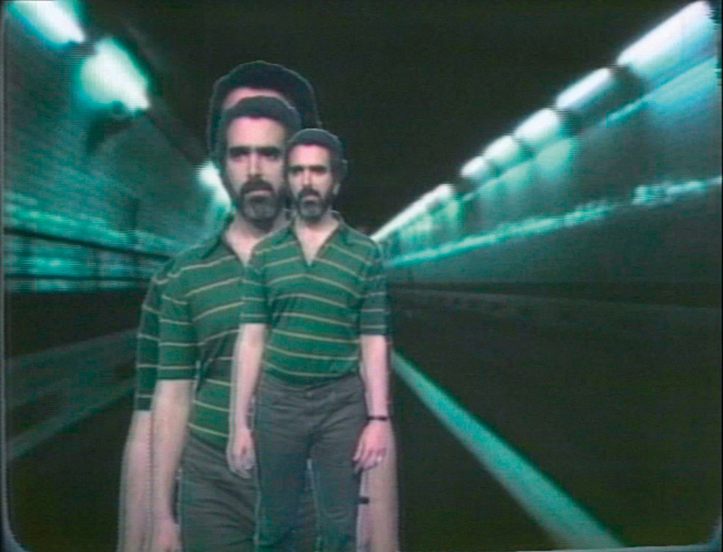 Peter Campus, Set of Coincidence, 1974, vidéo couleur, son, 13 min 24 s, permission de la Cristin Tierney Gallery
