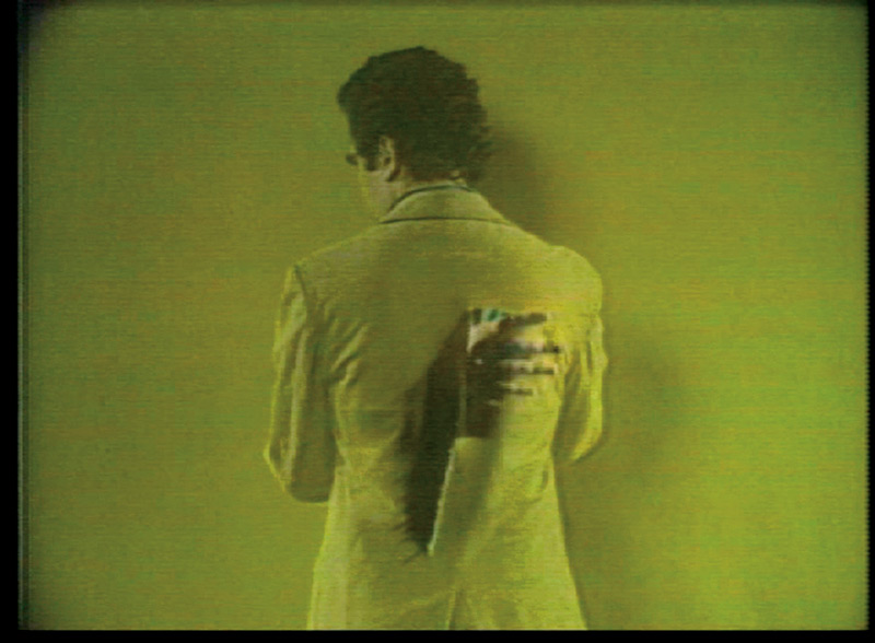 Peter Campus, Three Transitions, 1973, vidéo couleur, son, 4 min 53 s, permission de la Cristin Tierney Gallery