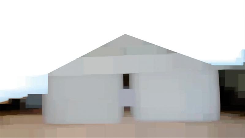 Peter Campus, a barn at north fork, 2010, vidéo numérique HD, vidéographie, couleur, son, 24 min, en boucle, permission de l'artiste et de la Cristin Tierney Gallery
