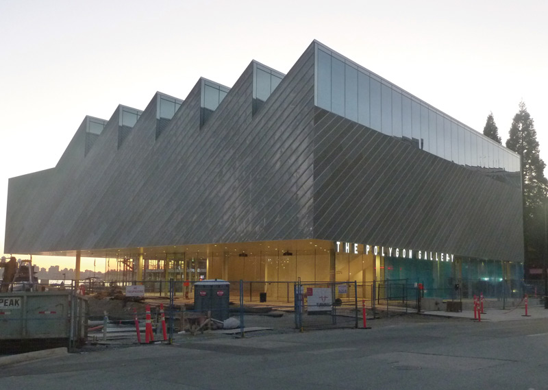 Polygon Gallery, North Vancouver. Photo: Karen Henry