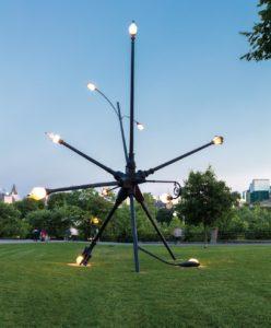 Justin Wonnacott, Pictures of Art - Laurent Vernet, Regard oblique sur les œuvres d'art dans les espaces publics