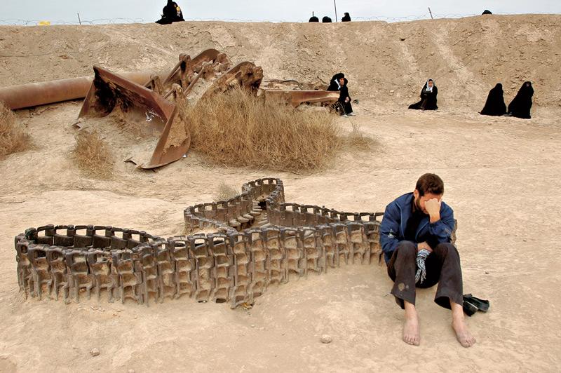Abbas Kowsari, de la série / from the series L'Ombre de la terre / The shadow of the earth, Talaiye, 2008
