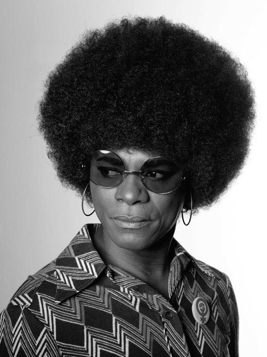 Samuel Fosso, Autoportrait (Angela Davis), de la série / from the series African Spirits, 2008