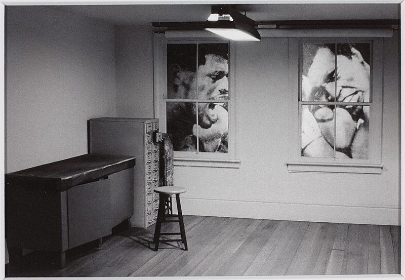 John Massey, Numéro 6, Boxeurs / Number 6, Boxers, 1979, épreuve au jet d'encre / inkjet print 11 × 16 cm