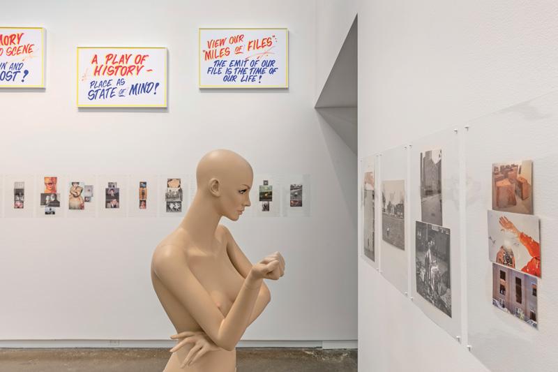 Luis Jacob, Habitat, 2017, installation view / vue d'installation. Photo: Toni Hafkenscheid.