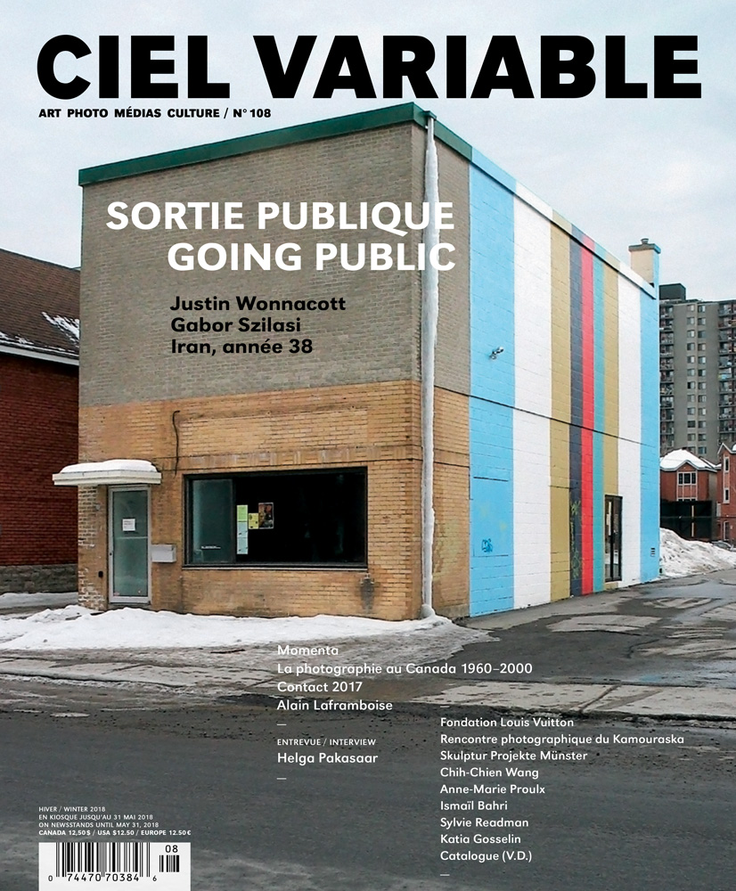 Ciel variable 108 – SORTIE PUBLIQUE