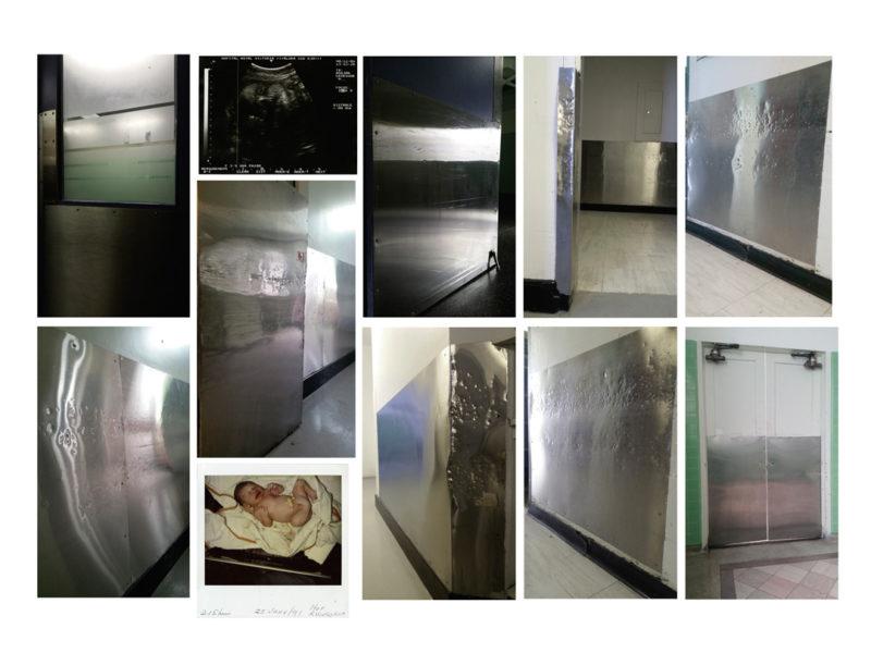 Michel Campeau, Baby Philomène Royal (1991-2017), 2017 84 × 117 cm. Impression jet d'encre (encres archive) / inkjet print with archival inks, Centre des arts et du patrimoine RBC / RBC Art and Heritage Centre.