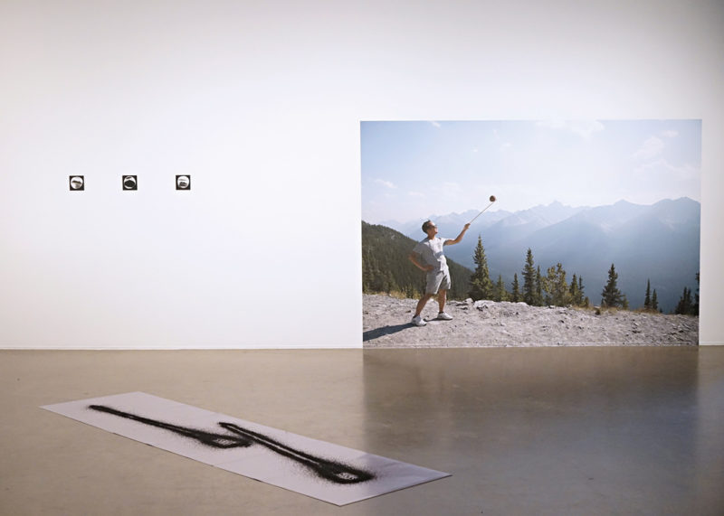 Kotama Bouabane, We'll get there fast and then we'll take it slow, exhibition view. Photo: Claudie Mailhot-Trottier / VU