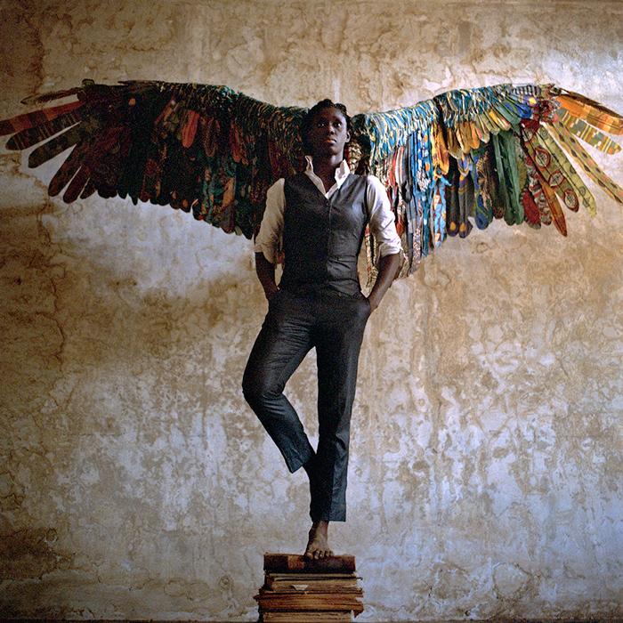 Laeïla Adjovi et Loïc Hoquet, Malaïka Dotou Sankofa #4, 2016. Série récompensée en mai 2018 par le Grand prix Léopold Sédar Senghor, lors de la 13e Biennale d'art contemporain de Dakar.