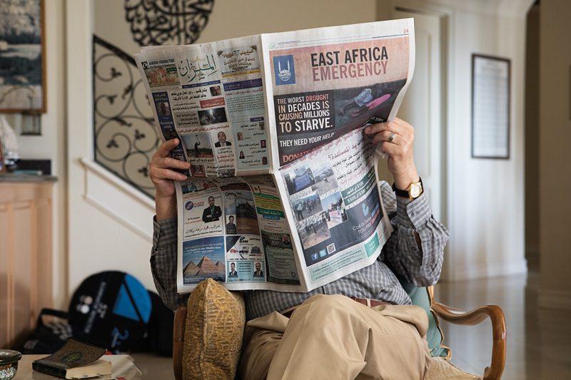 Taysir Batniji, Home Away From Home / Mes cousins d'Amérique, 2017, tirage jet d'encre pigmentaire, 65 × 43 cm, permission des galeries Eric Dupont (Paris) et Sfeir Semler (Hambourg/Beyrouth)