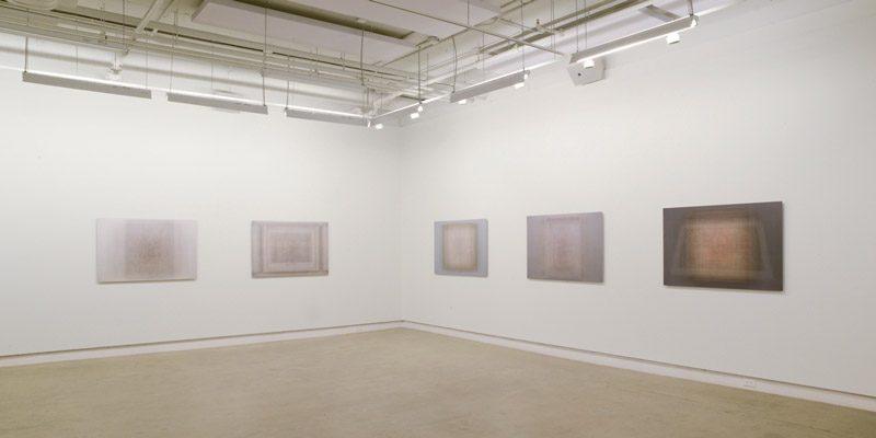 Martin Désilets, Matière noire / L'index, vue d'exposition, 2019. Photo: Martin Désilets