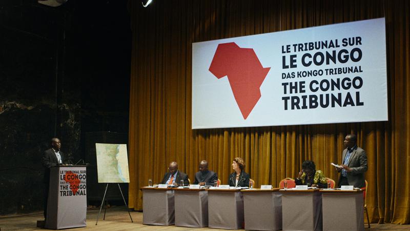 Milo Rau, Le tribunal sur le Congo, 2017, documentaire / documentary, images tirées du film / film stills, 100 min.