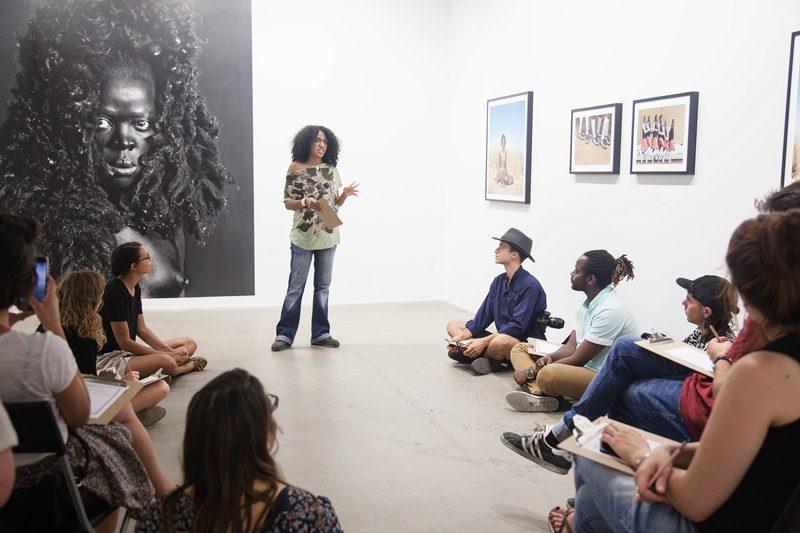 Images et identité / Stories of identity, 2017, atelier de réflexion pour le grand public en collaboration avec Arc-en-ciel d'Afrique / workshop for all in collaboration with Arc-en-ciel d'Afrique
