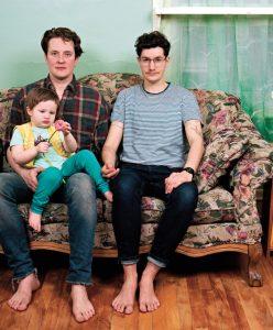 JJ Levine, Family — Charles Guilbert, Beyond Borders