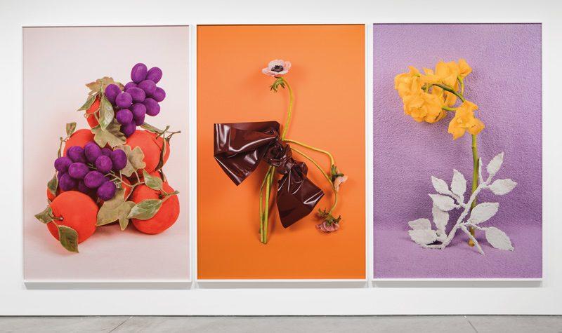 Michelle Bui, Centerfold, vue de l'exposition, permission de l'artiste et de Parisian Laundry, photo : Maxime Brouillet